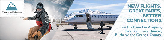 Fly to Mammoth Lakews